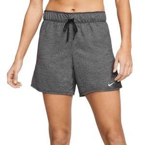 NIKE Women's ATTK 2.0 TR5 Training Shorts Gray XS